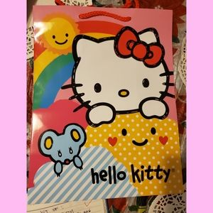 Lot of 6 pieces of Hello Kitty Gift Bags